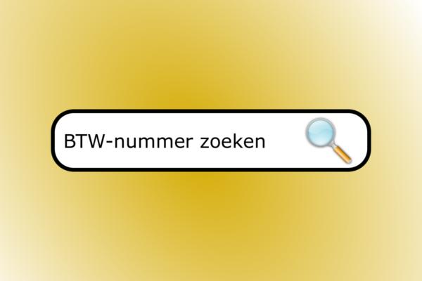 BTW-nummer opzoeken